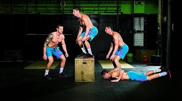 Burpee box jump
